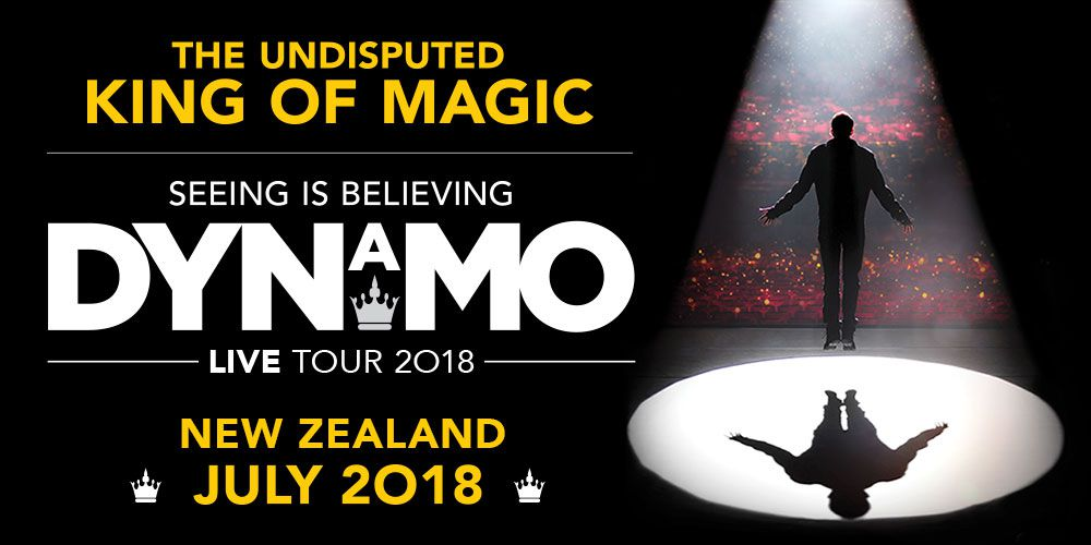 DYNAMO Seeing is Believing World Tour 2018